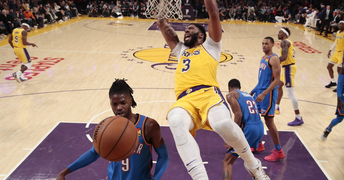 Lakers show how fast breaks keep them ahead when defense breaks down