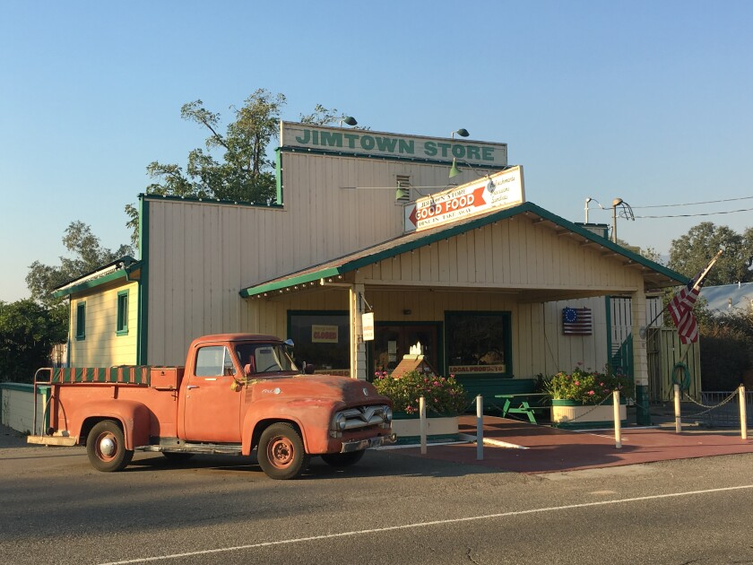 The Jimtown Store on Highway 128 in Sonoma County