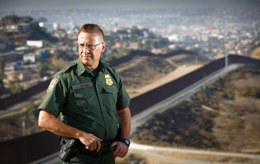 Chancy Arnold, longest-serving Border Patrol agent in the U.S.