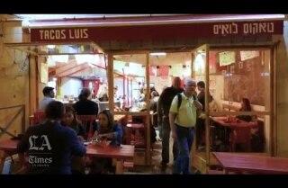 Taquería mexicana es un éxito en Tierra Santa
