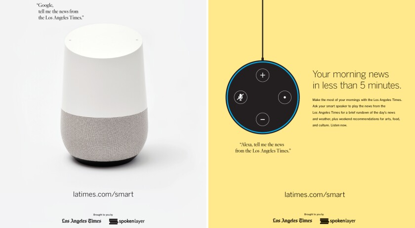 Los Angeles Times Smart Speakers How to