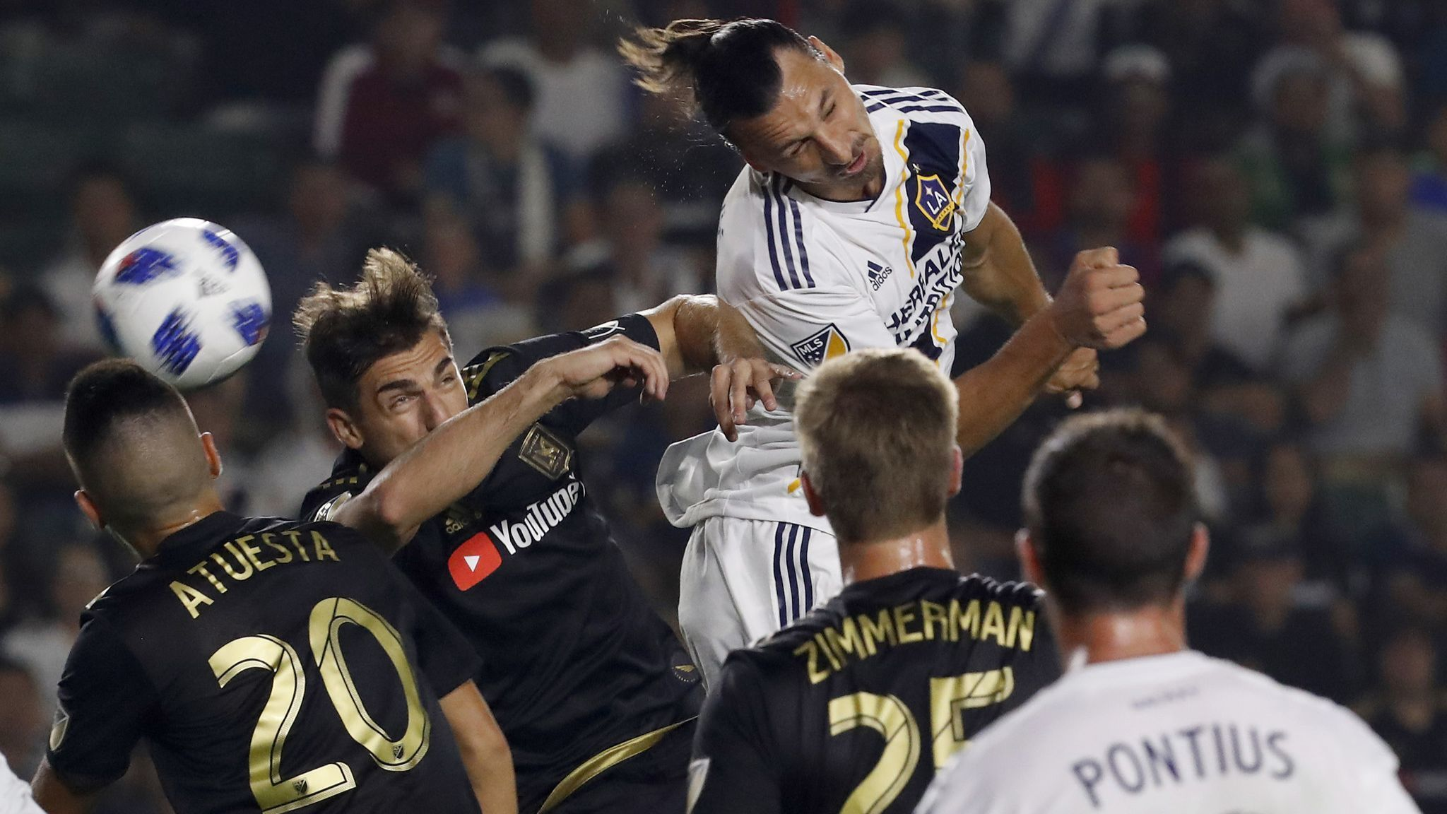 The rivalry between the Galaxy and LAFC— known as El Trafico— got off to an auspicious start