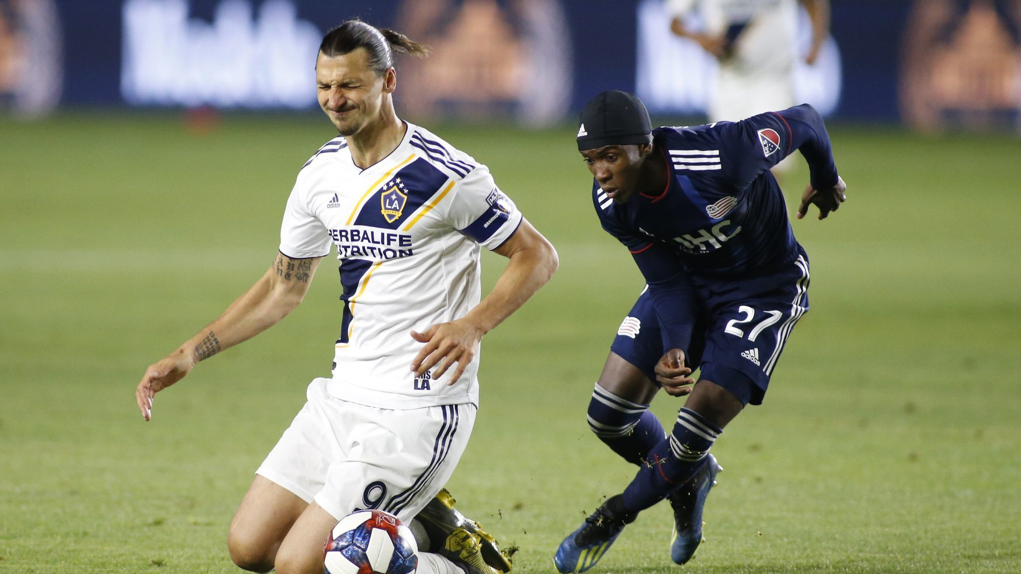 Galaxy and Zlatan Ibrahimovic are held in check in loss to Earthquakes