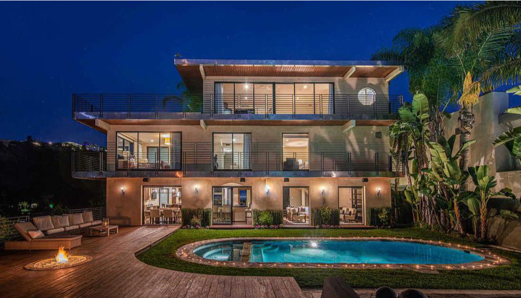Reggie Bush's former Hollywood Hills home photo