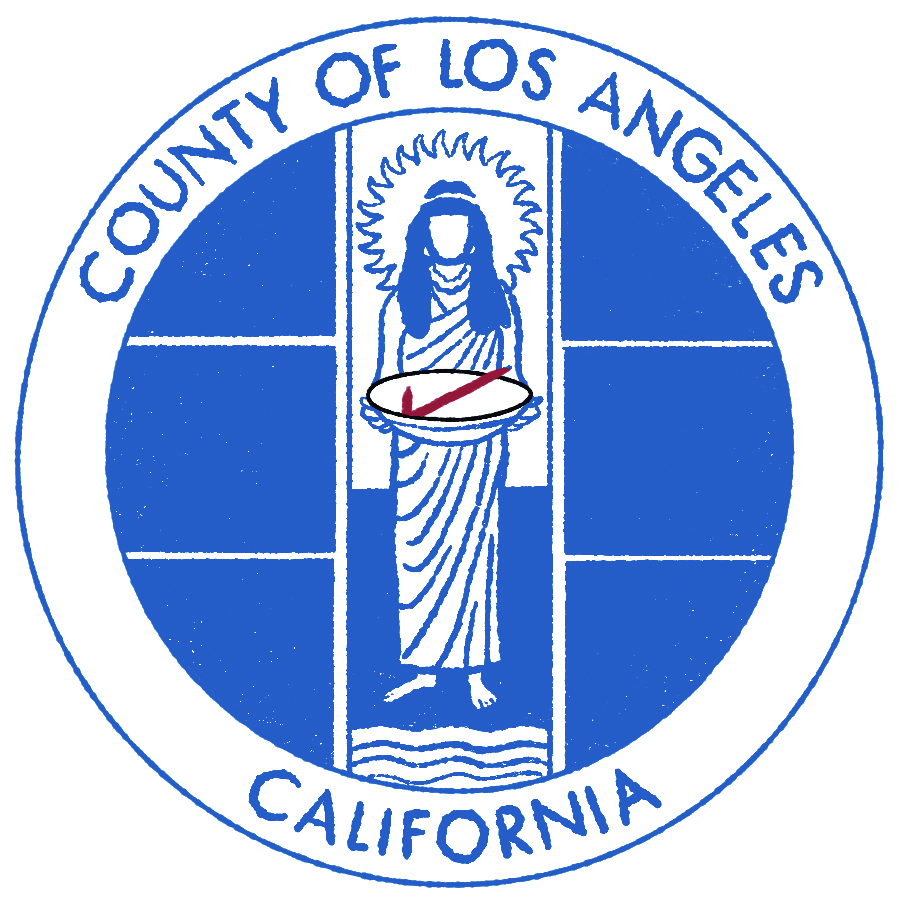 Illustration of LA County seal