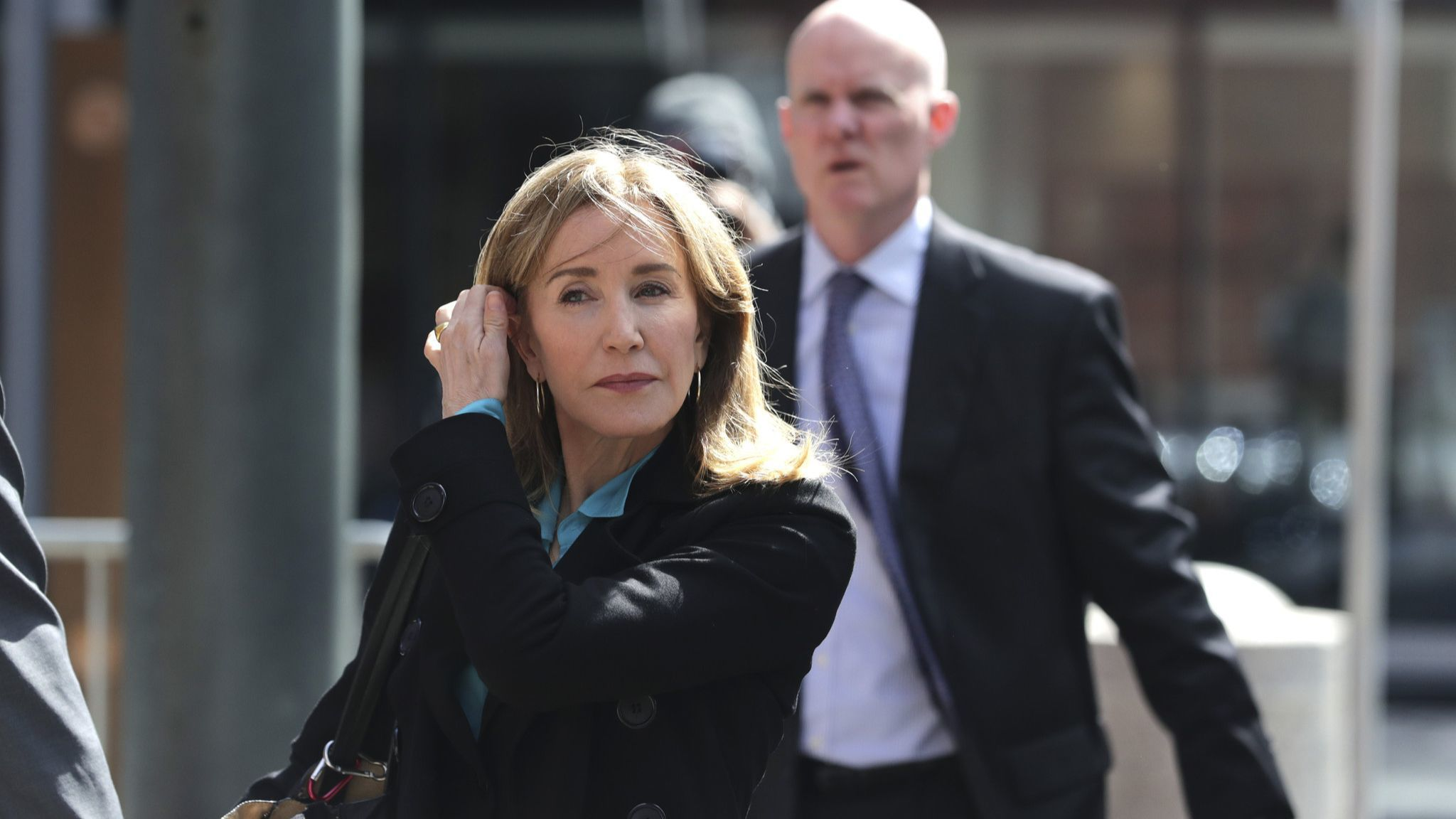 Felicity Huffman's costars speak out on college admissions scandal