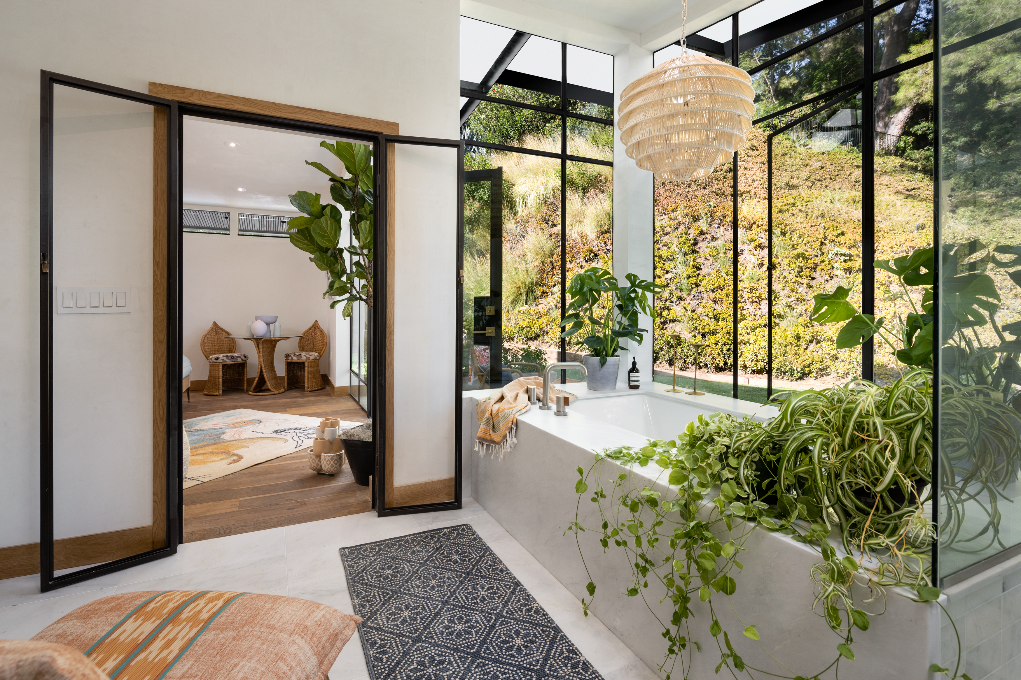 Designer Kim Gordon rolls out her latest creation in Laurel Canyon photo