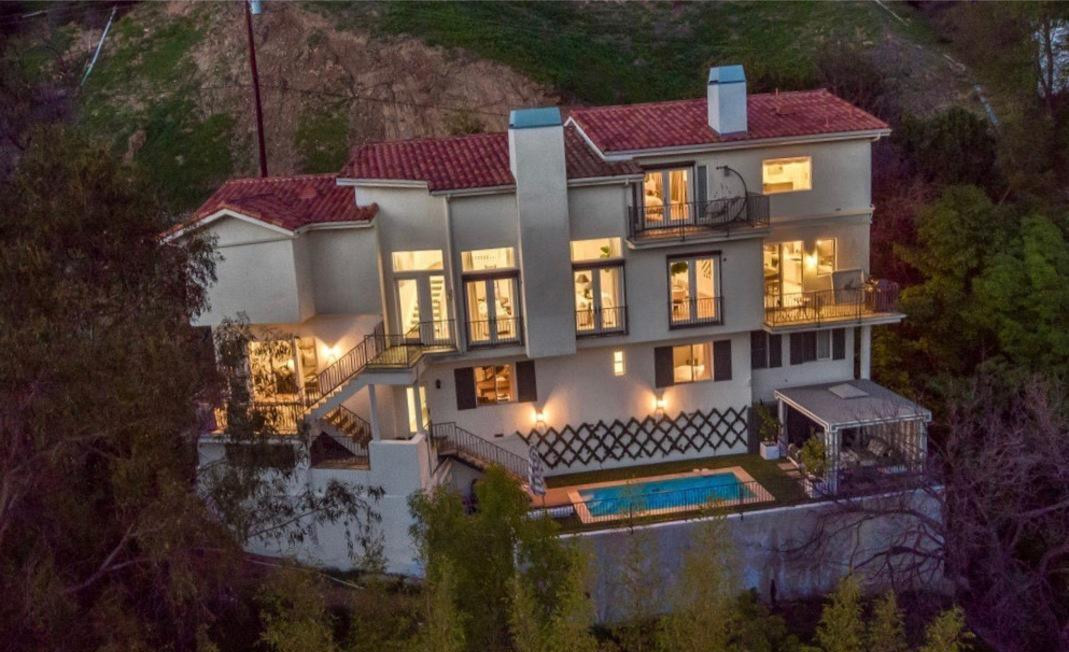 Actor Clive Standen takes hold of Lucy Hale's Studio City home photo