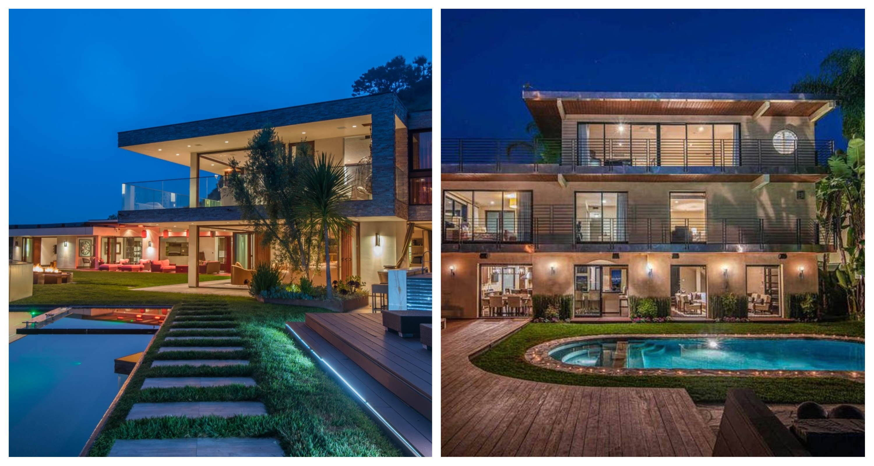 Two of Reggie Bush's homes are on the market. What's your pick? photo