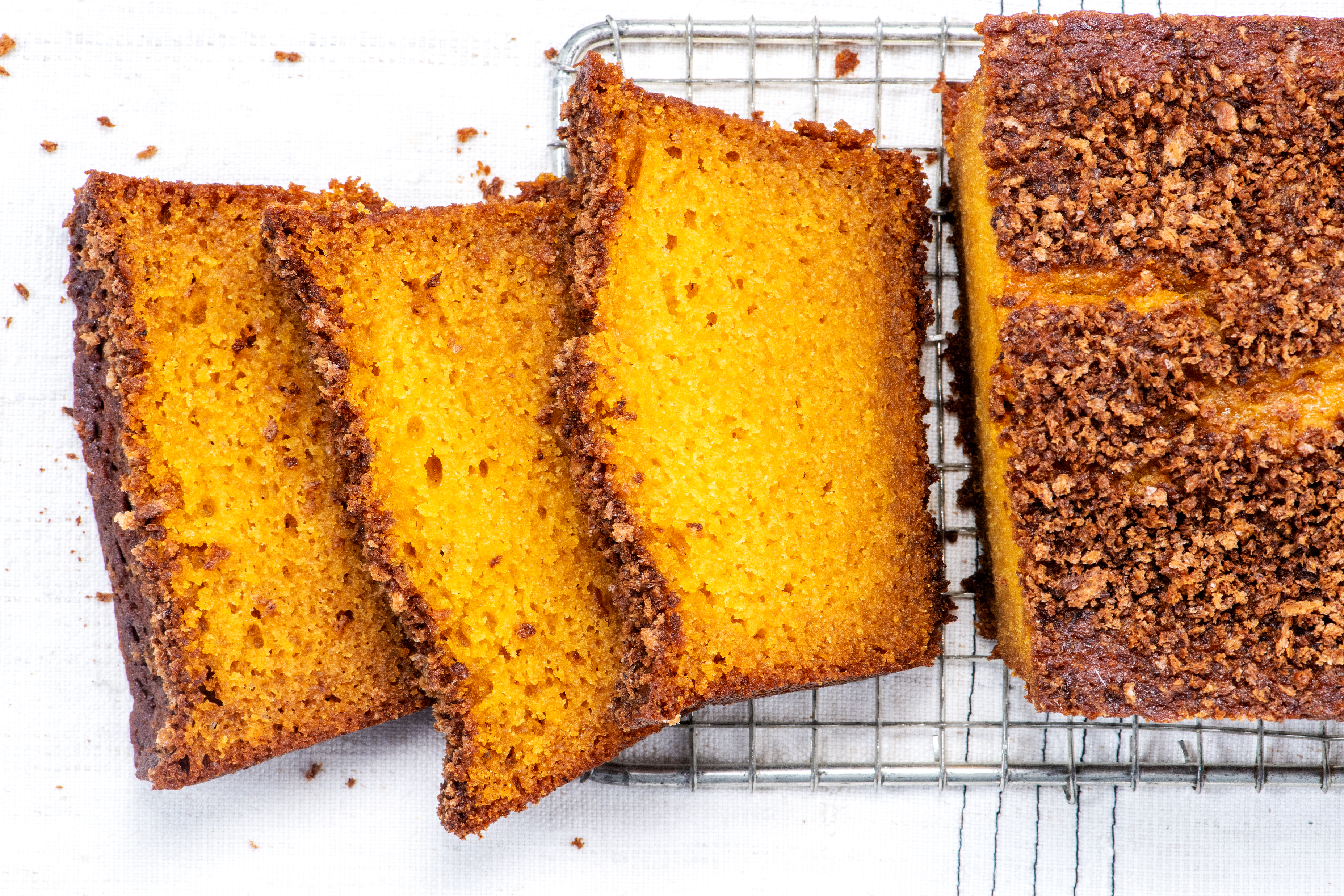 Roasted Pumpkin Loaves With Salty Spiced Bread Crumbs