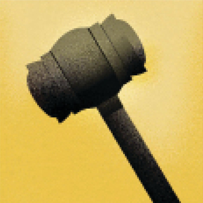 Illustration of a judge's gavel