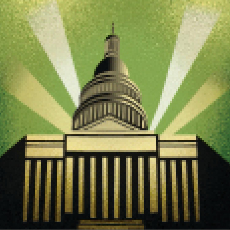 Illustration of U.S. Capitol building