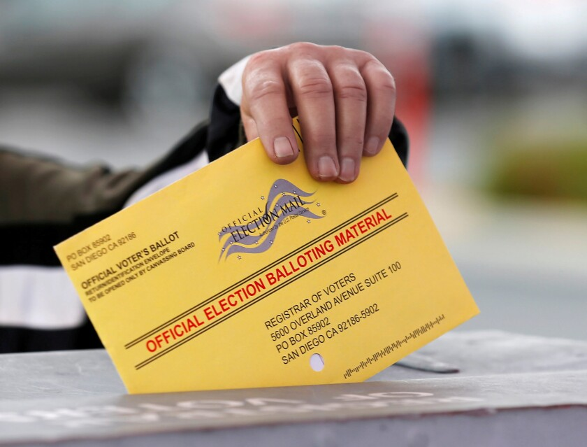 Use of mail ballots has expanded dramatically in Democratic, Republican and swing states.