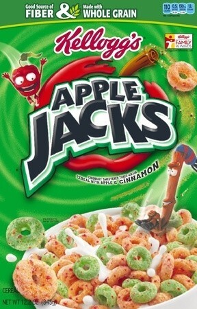 Apple Jacks are listed as containing 2% or less of partially hydrogenated oil.