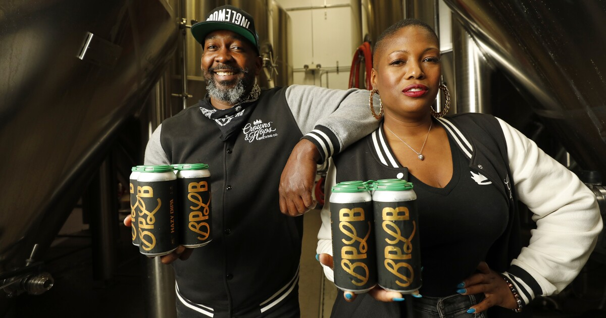 How Crowns & Hops is building a Black-owned craft beer brand — and a community