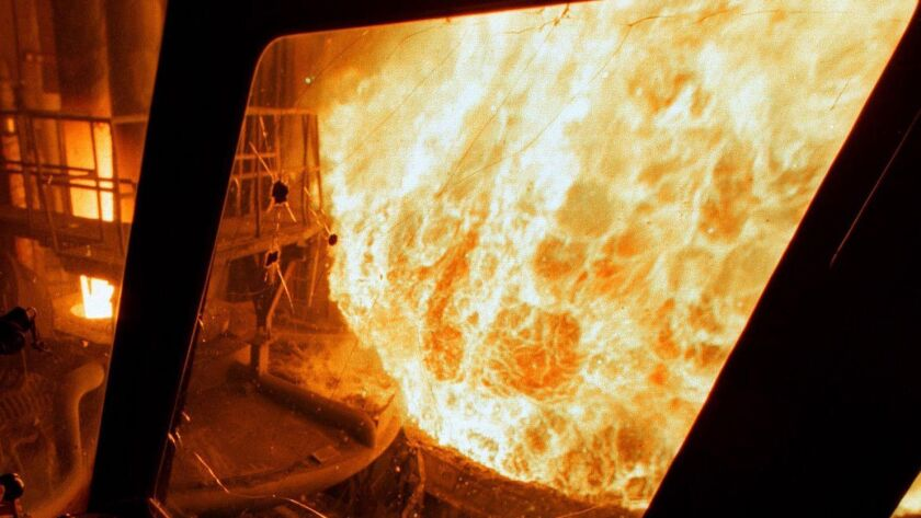 Is this your idea of hell? It's actually just a furnace. Being caught in a customer service loop is a different kind of torment.