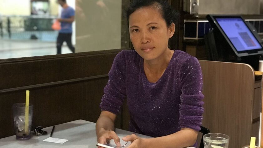 Lay Peng Pua, a chemist, led a group of residents in a campaign against illegal plastic recycling in Jenjarom, Malaysia.