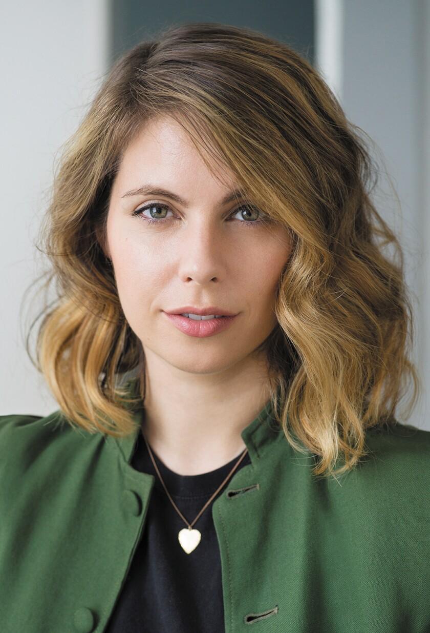 "Emily Temple, author of novel ""The Lightness."""