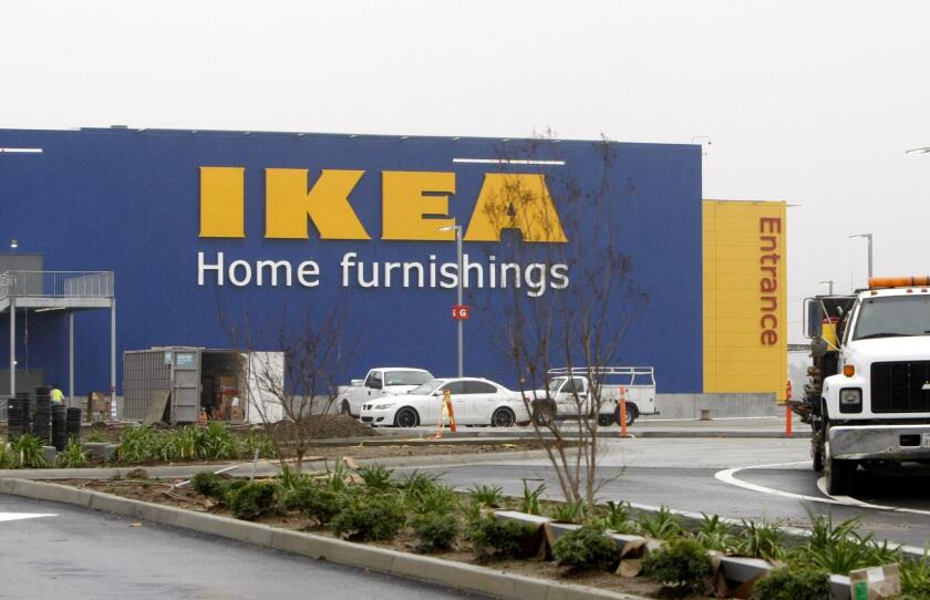 The new IKEA in Burbank, which will be the largest IKEA store in the United States, will open Feb. 8, company officials announced.
