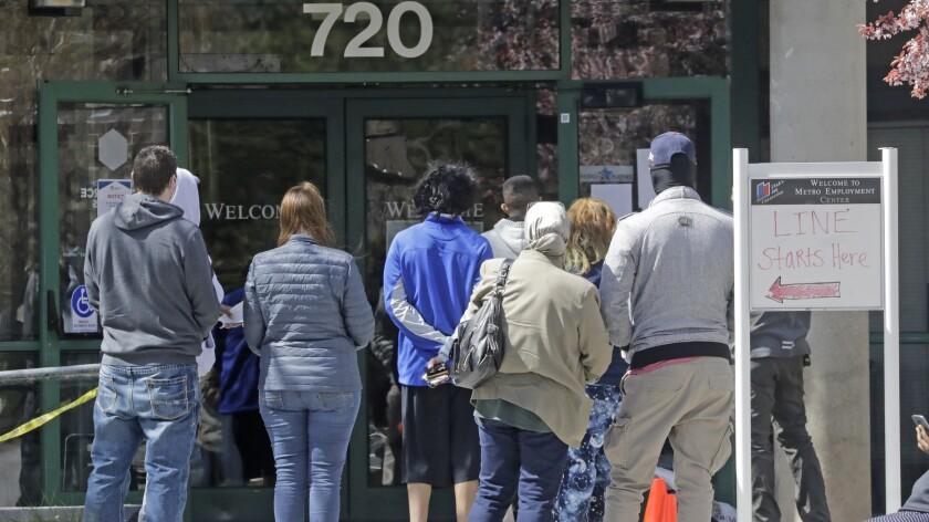22 millones buscan ayuda por desempleo por pandemia - San Diego ...