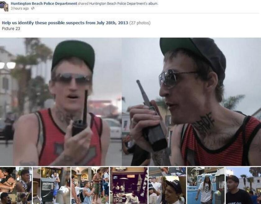 Huntington Beach police have posted 20 new photos of possible suspects in the July 28 riots.