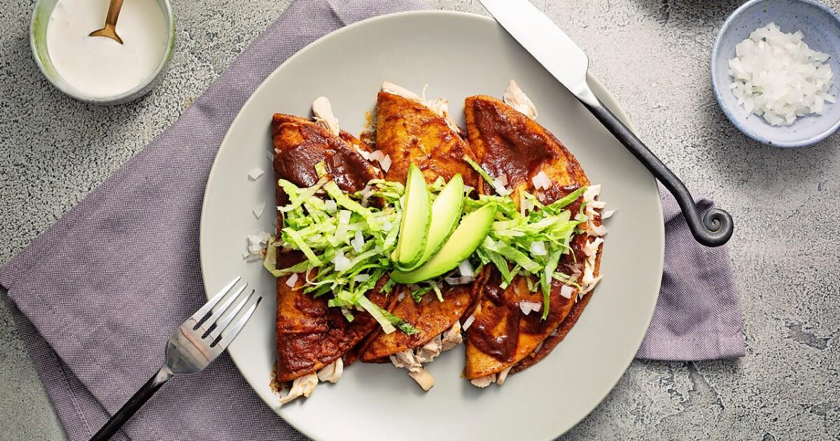 Make the best chicken enchiladas at home