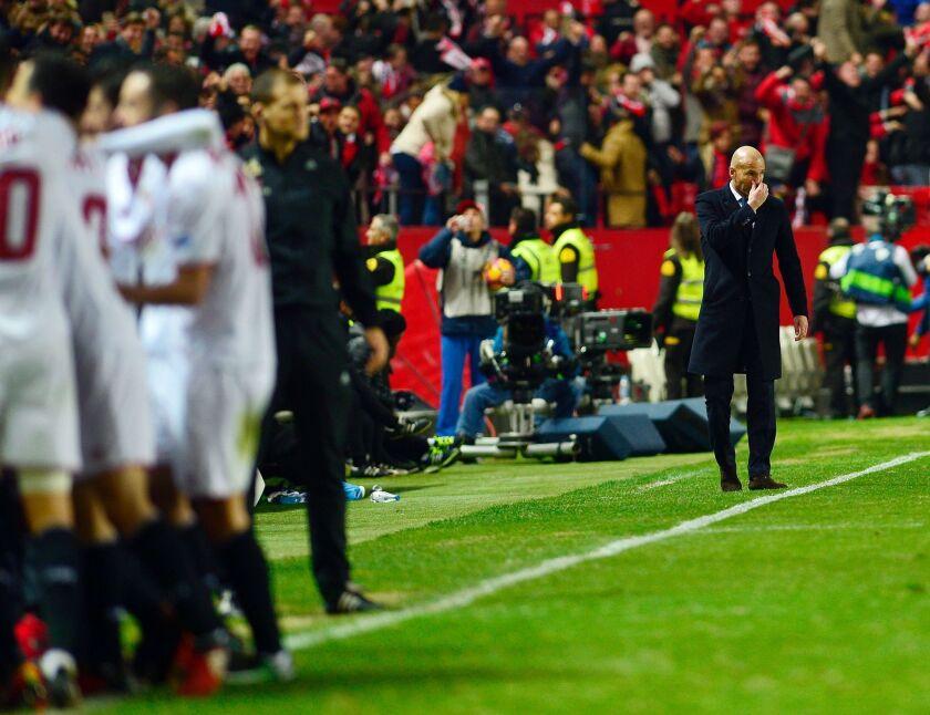Zinedine Zidane cree que sobraron '5 minutos' y que no les va a 'afectar fin de racha' del Real Madrid.