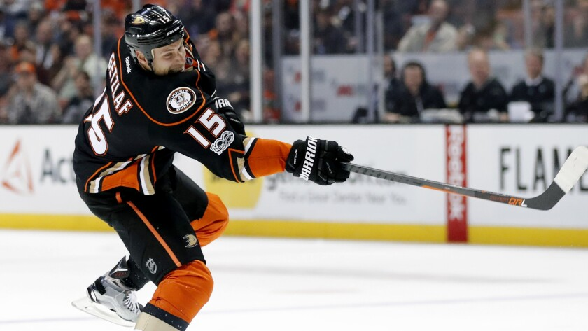 NHL fines Ryan Getzlaf, who says inappropriate remark during