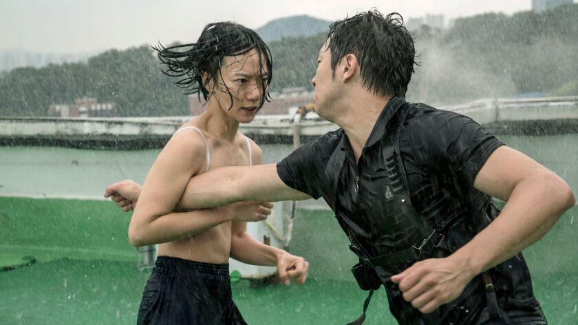 Sense8. Season 2. EPISODE 2. Bae Doona, left