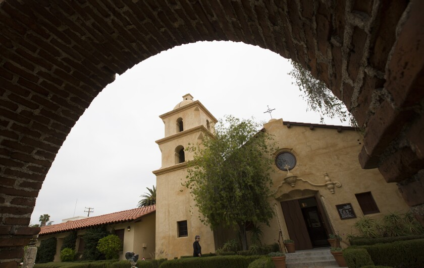 The Ojai Valley Museum is housed in the former St. Thomas Aquinas Catholic Church in Ojai.