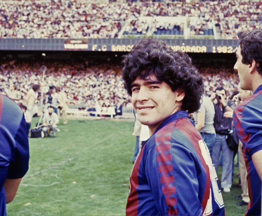 Maradona y los 700 días en Barcelona que le marcaron para siempre - San  Diego Union-Tribune en Español