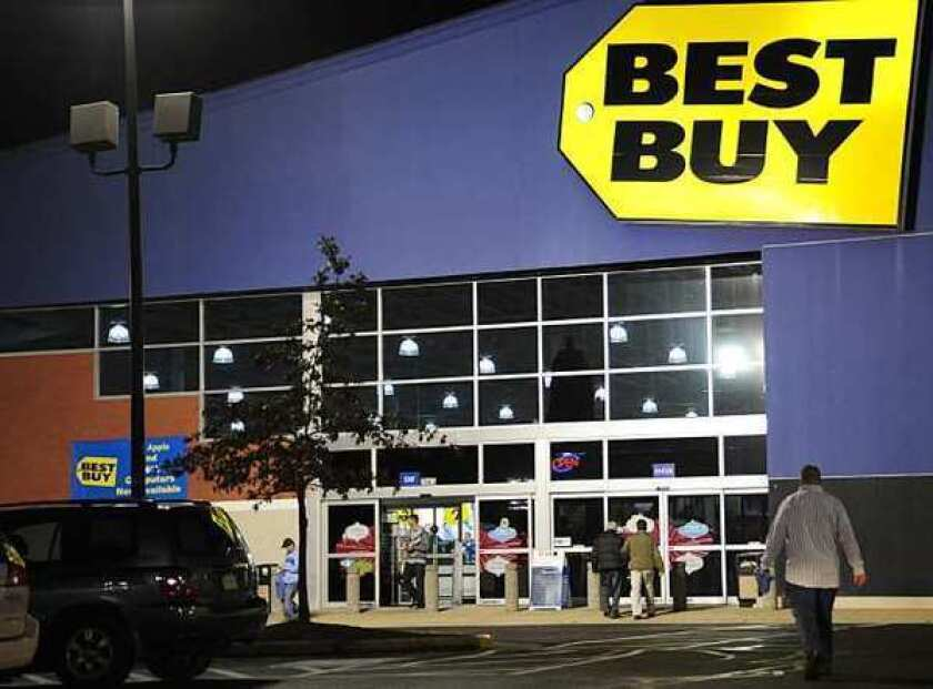 Best Buy, the struggling electronics retailer, hired Hubert Joly to take over as its new chief executive.