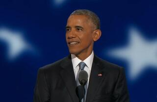 'I'm ready to pass the baton' Watch President Obama's full Democratic National Convention speech