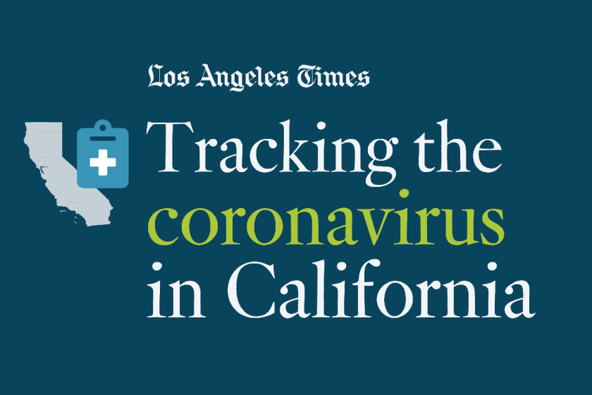 California coronavirus cases: Tracking the outbreak - Los Angeles Times