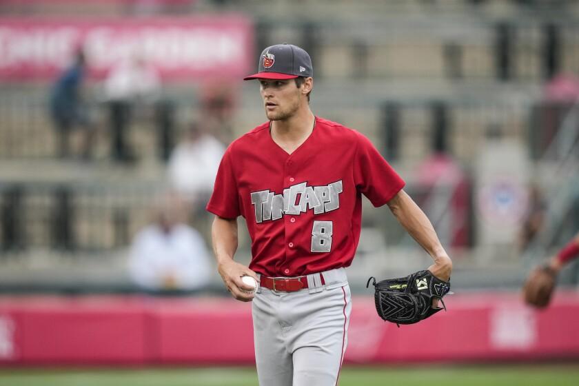Padres pitching prospect Gabe Mosser began 2021 at high Single-A Fort Wayne.