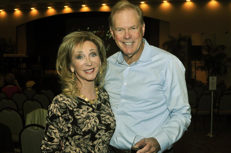 Patti Dahlgaard and Dr. John Renner