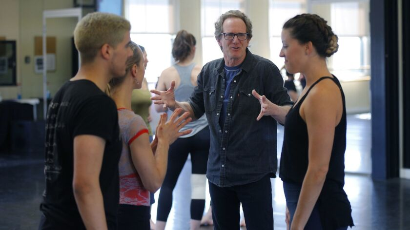 """Dancer and choreographer John Malashock: """"It's still very much, for me, about creating work people can relate to, or to open people's eyes to something exciting and different."""""""