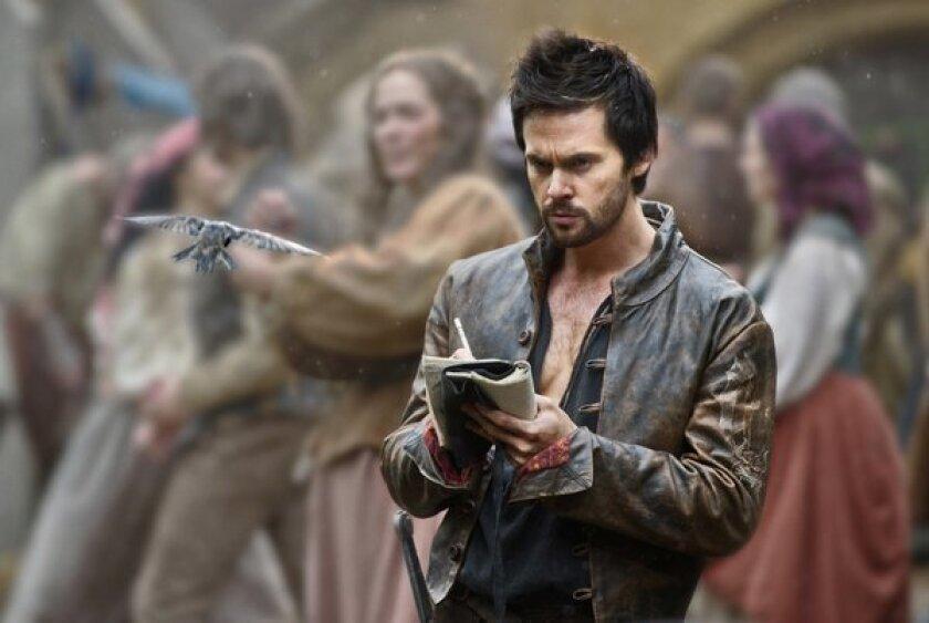"""Tom Riley in a scene from """"Da Vinci's Demons."""""""