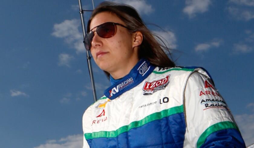 Simona De Silvestro seeks to make her mark in Long Beach Grand Prix