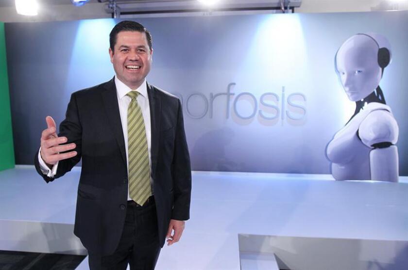 El presidente de la Asociación de Televisiones Educativas de Iberoamérica (ATEI), Gabriel Torres Espinoza. EFE/Archivo