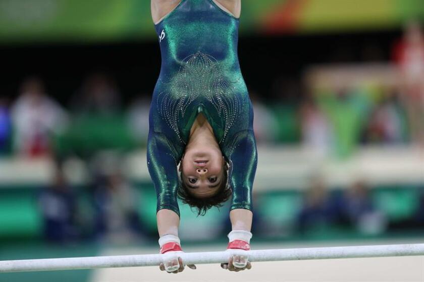 La atleta de México Alexa Moreno. EFE/Archivo