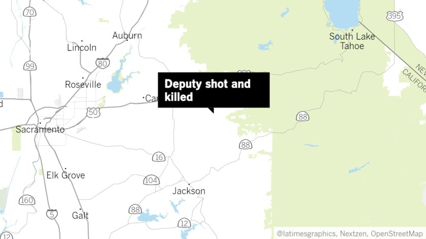 Deputy killed and another wounded in El Dorado County shooting