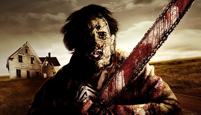 Concept art of the Texas Chainsaw Massacre maze coming to Halloween Horror Nights at Universal Studios Hollywood.
