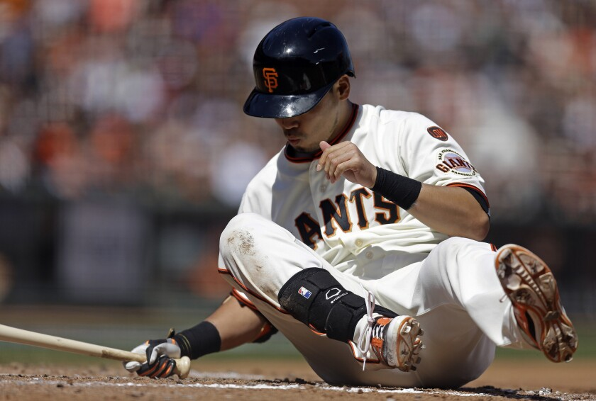 Dodgers' rival and upcoming opponent, the San Francisco Giants, have stumbled out of the gates this season in their defense of their World Series title.