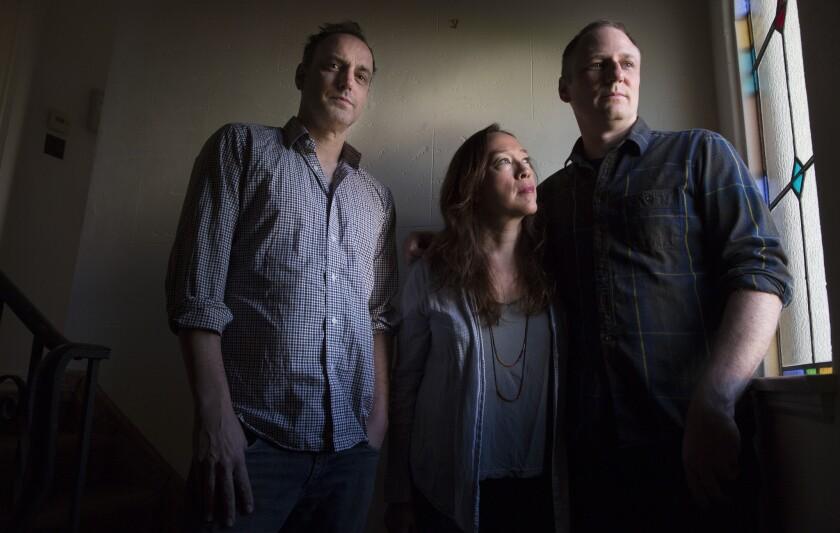 Matt Manfredi, Karyn Kusama and Phil Hay