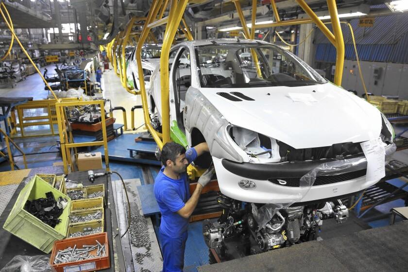 Iran's auto industry