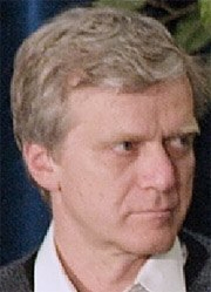 Andy Bechtolsheim at a forum at Stanford University in 2006. (Bloomberg News)