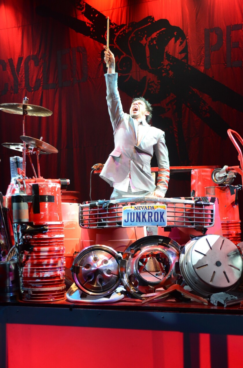 "This summer, ""America's Got Talent"" finalists Recycled Percussion bring their unique ""junk rock"" to the Quad on the Las Vegas Strip."