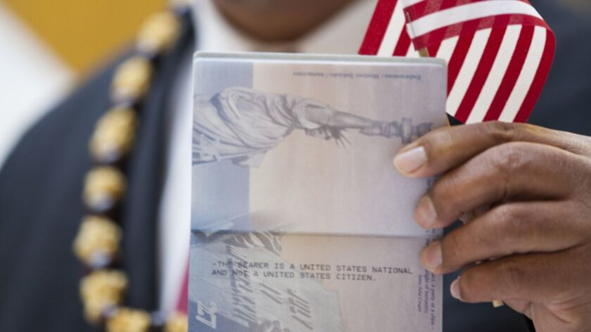 """Lead plaintiff John Fitisemanu's passport says, """"THE BEARER IS A UNITED STATES NATIONAL AND NOT A UNITED STATES CITIZEN."""""""