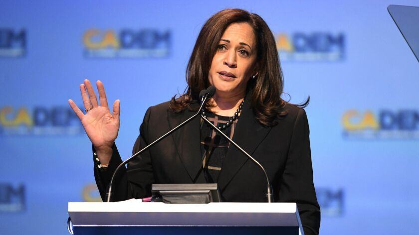 After winning election in 2016, California's junior U.S. senator, Kamala Harris, is already eyeing a bid for president in 2020.